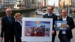 Die Elbphili-Briefmarke