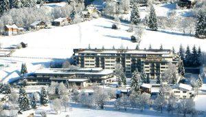 Das Hotel Cesta Grand im Winter