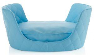 Hunde Bett Cucu in blau