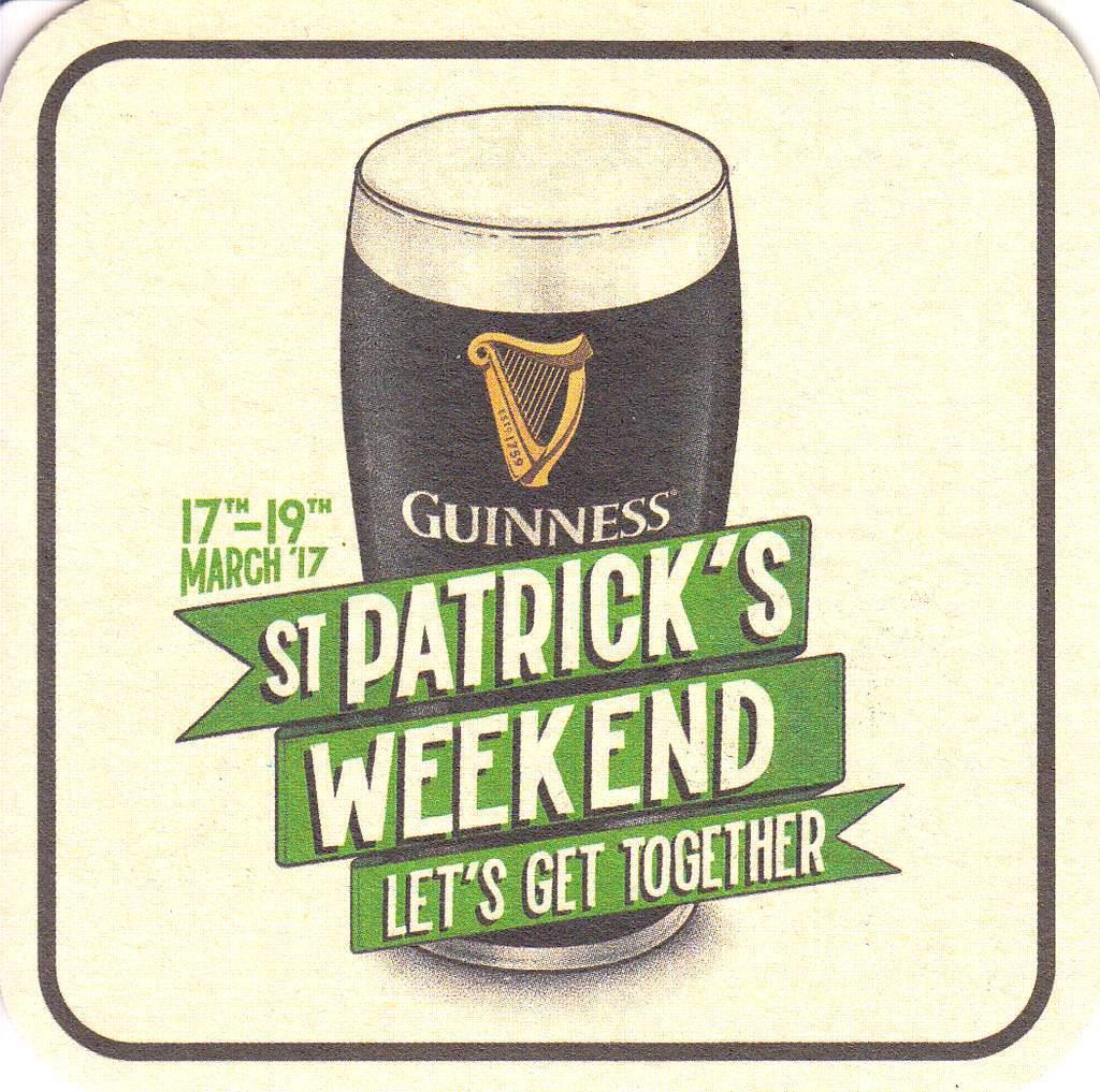 Guinness St Patricks Day 2017 Bierfilz