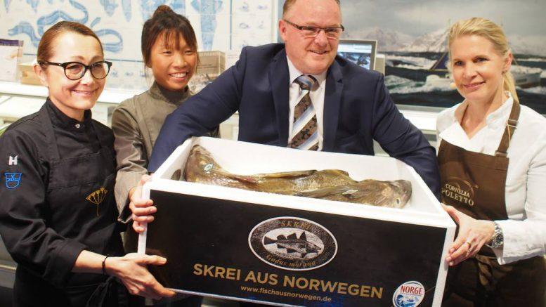 Skrei aus Norwegen mit Top Köchininnen