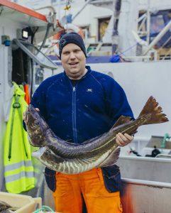 Skrei mit Fischer