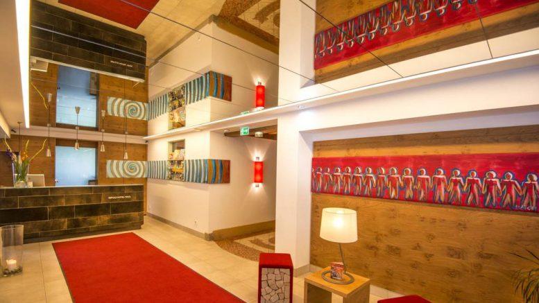 Eingangsbereich Impuls Hotel Tirol