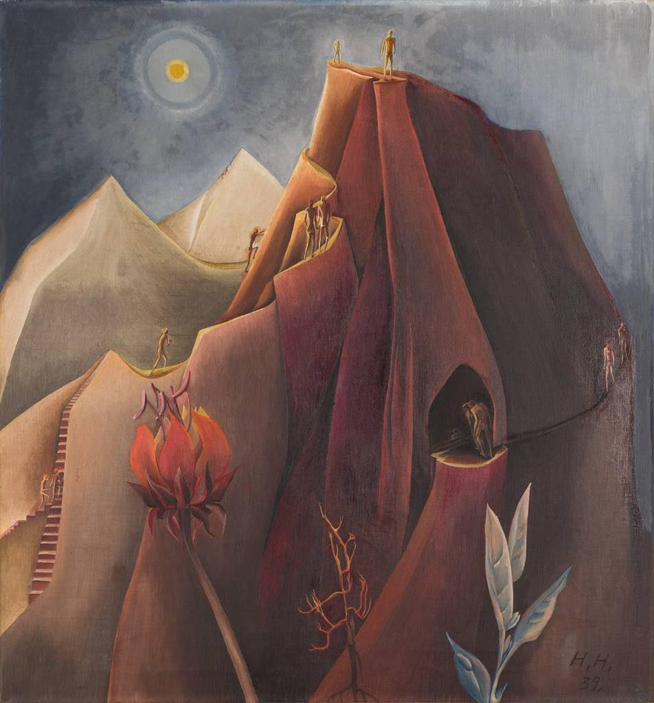 Hannah Höch: Der Berg
