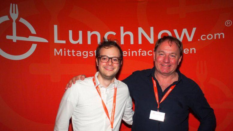 Sie haben LunchNow beide gegründet