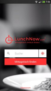 Die App ist das Herzstück von Lunchnow