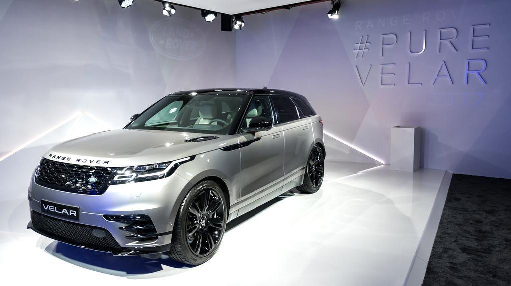 Range Rover Velar ein Midsize SUV