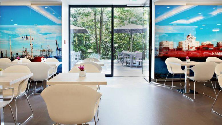 Die Cafeteria Elbblick im Krankenhaus Tabea