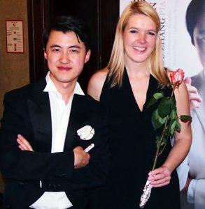 Haiou Zhang und Sabine Grofmeier