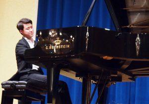 Haiou Zhang am Flügel