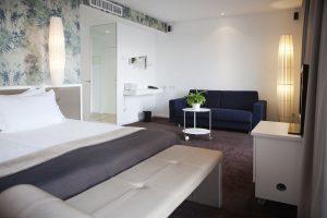 Ein Hotelzimmer des Portixol