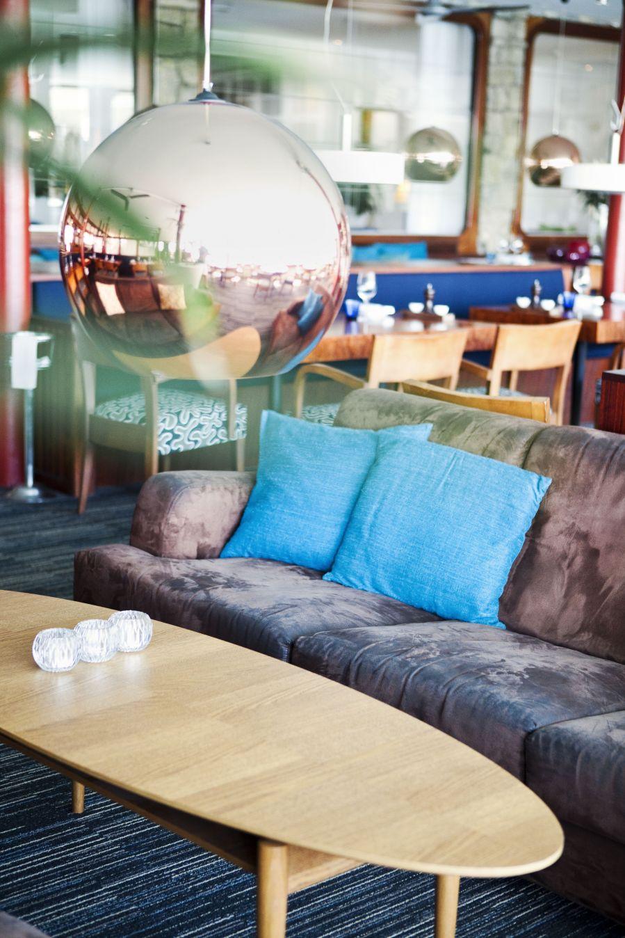 Der Loungebereich