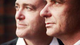 Pianisten Nicholas Ashton und Franck-Thomas Link