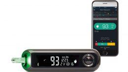 Ein Blutzuckermessgerät mit App