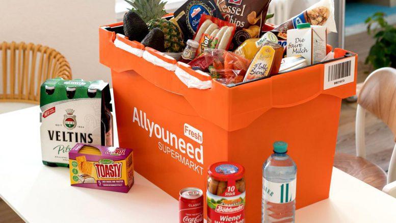 Online Supermarkt - Home Delivery Transportbox