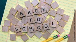 Back to School Wortbild