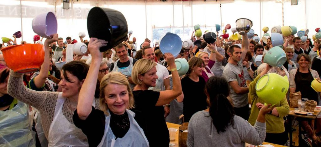 Tanz beim Food Festival Aarhus
