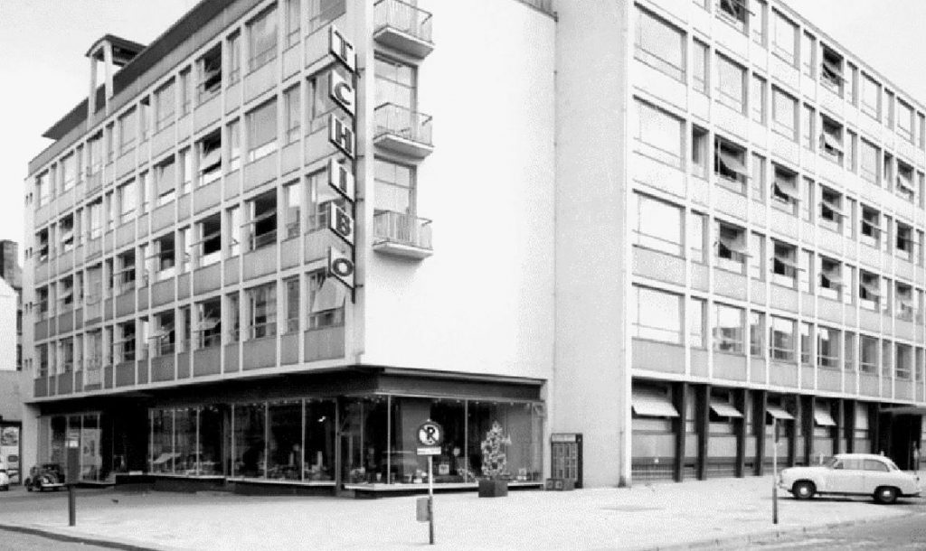 Die erste Tchibo Filiale in Hamburg