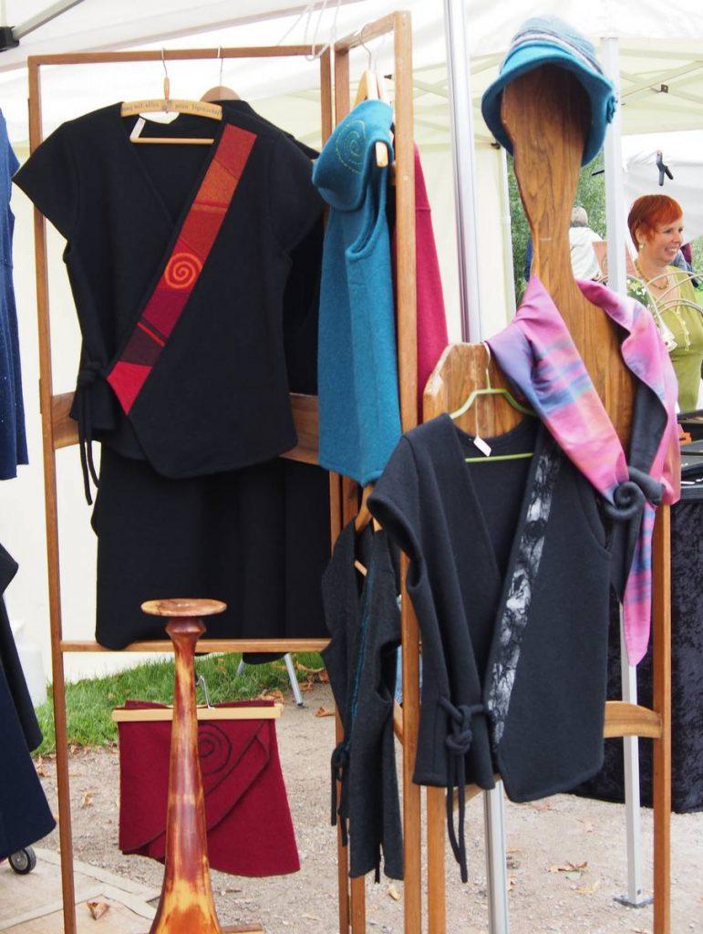 Marktstand Kunsthandwerker Markt