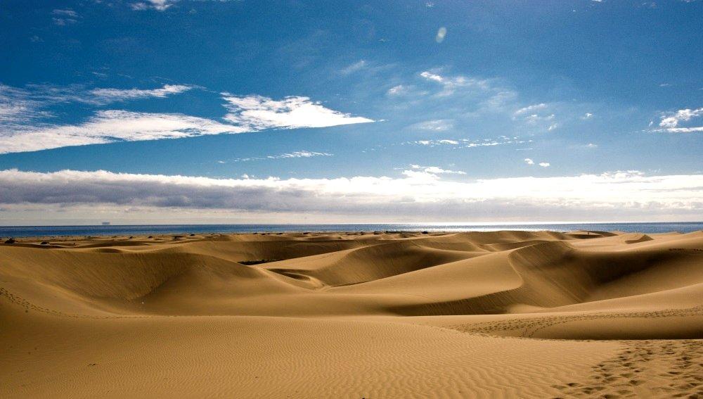 Gran Canaria die Dünen bei Maspalomas