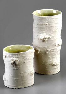 Vasen im Baumlook