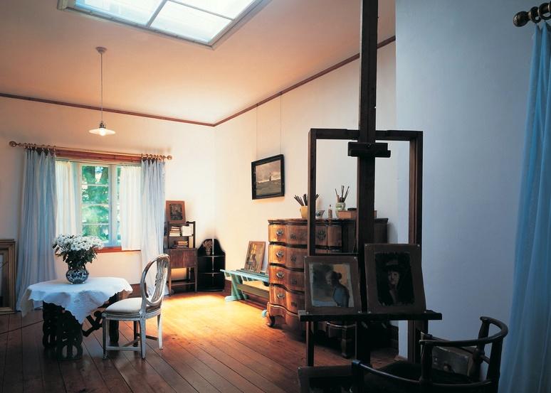 Das Wohnhaus eines Künstlerpaares in Skagen