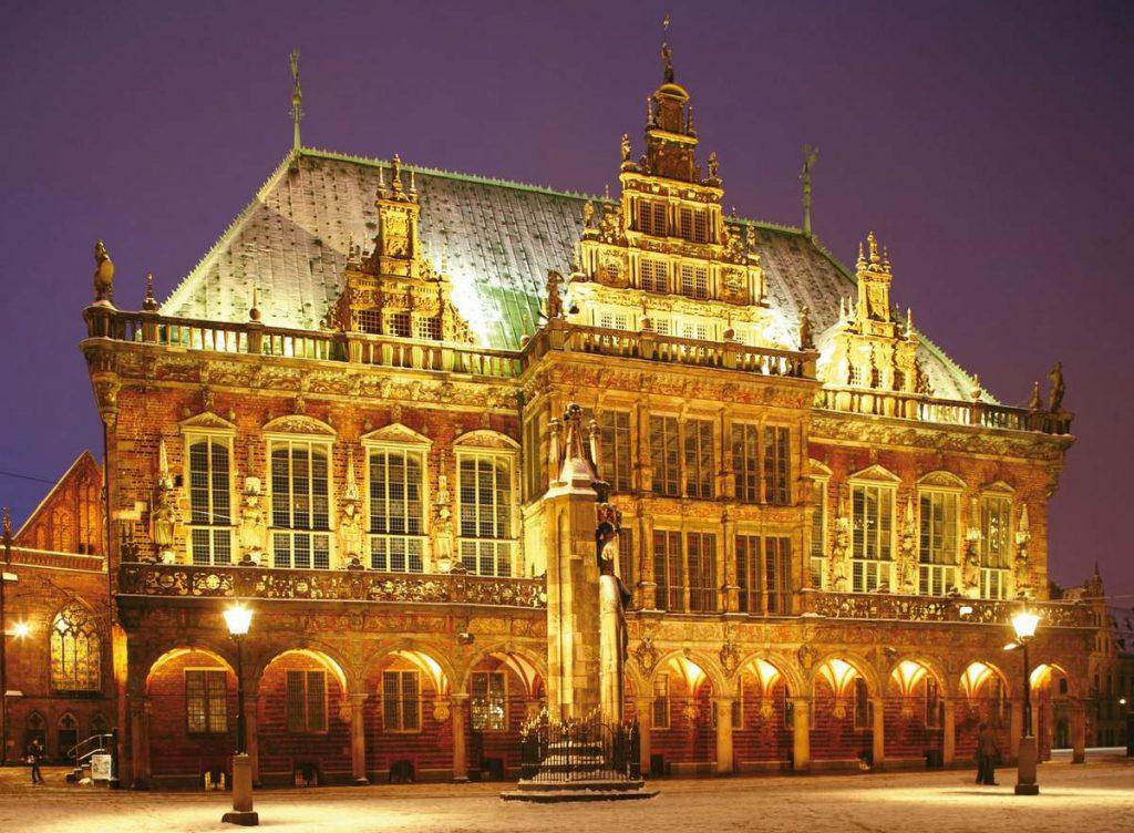 Das Rathaus in Bremen