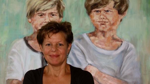 Christiane Bernreuther vor Two Boys