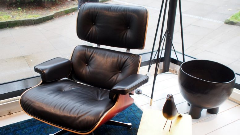 das mobile eames lounge chair atelier war zu gast bei der neue beckmann. Black Bedroom Furniture Sets. Home Design Ideas