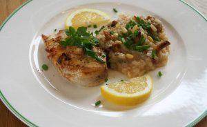 Mediterranean Chicken mit Risotto