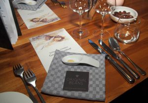 Schokoladen-Wein-Menü innerhalb des 31. SHGF in der Gutsküche Wulksfelde