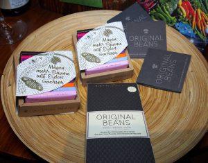 Weisse Bio-Schokolade von Original Beans