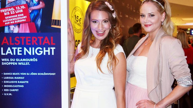 Late Night Shopping Party im AEZ im Oktober 2017