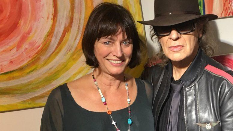 Carola Reinke mit Udo Lindenberg