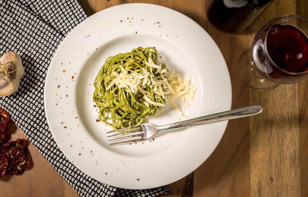 Matcha Spaghetti