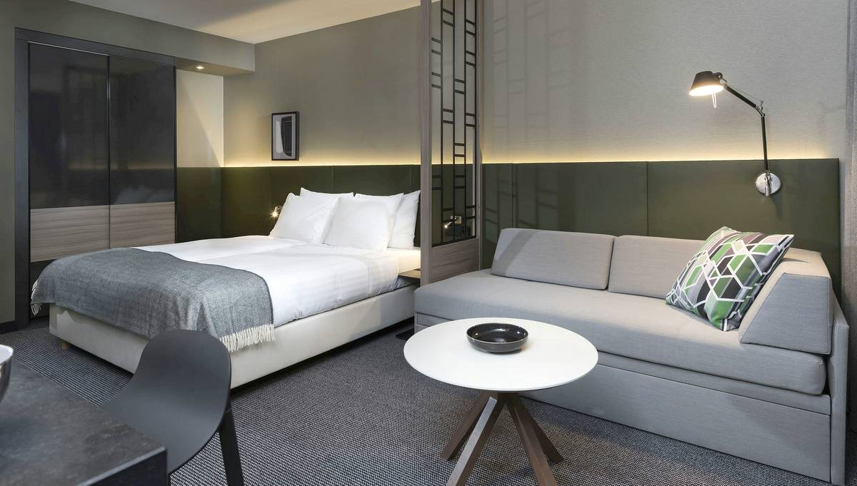 Zimmer im Adina Hotel