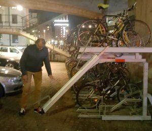 Fahrradständersystem