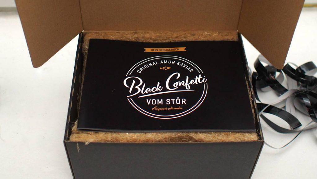 Versandbox für Kaviar