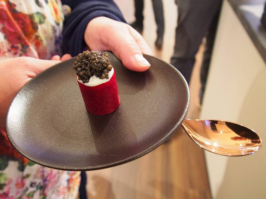 Amuse-Bouches beim Opening ZWIESEL living Store