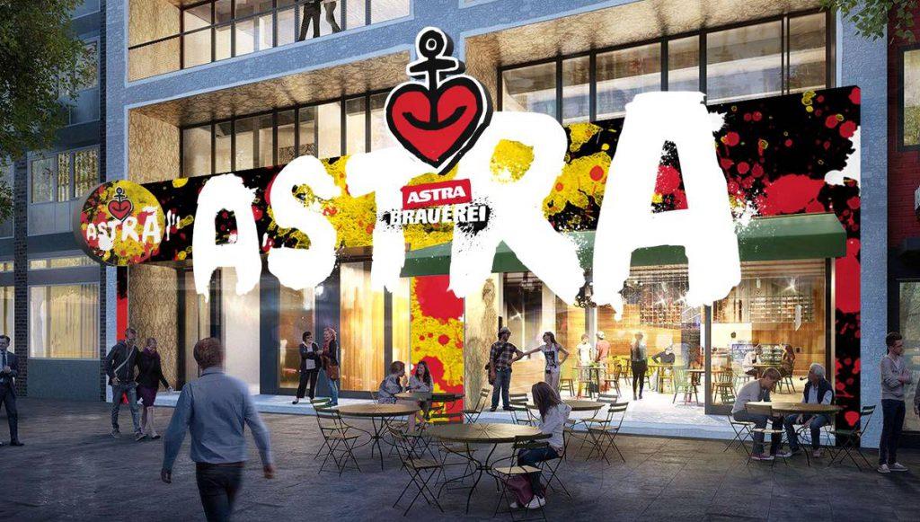 Entwurf des neuen Astra Brauhaus