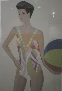 Die Galerie Schimming stellt Arbeiten von Alex Katz in der Barlach K aus Foto: ganz-hamburg.de