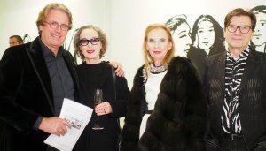 Gäste der Vernissage - Black & White von Alex Katz in der Barlach Halle K