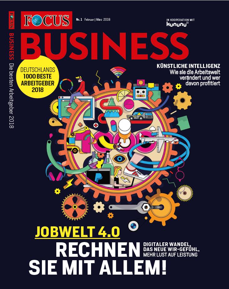 Cover Focus beste Arbeitgeber