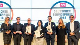 Preisverleihung Deutscher Servicepreis 2018