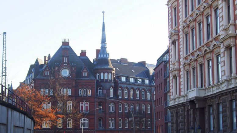 Impressionen aus dem Hamburger Münzviertel beim Hauptbahnhof