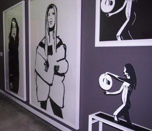 Arbeiten von Alex Katz in Hamburg