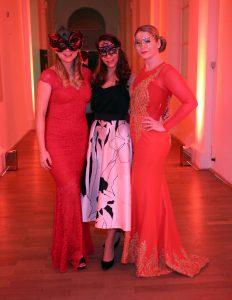 Gäste beim Bal du Masque 2018