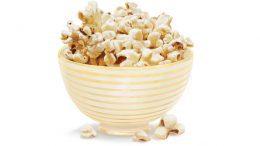 Heimatgut Schüssel mit Popcorn