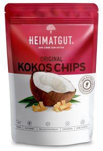 Tüte mit Heimatgut Kokos Chips