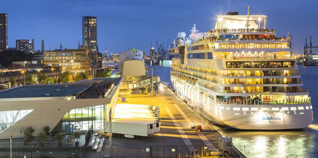 Landstromanlage Cruise Center Altona